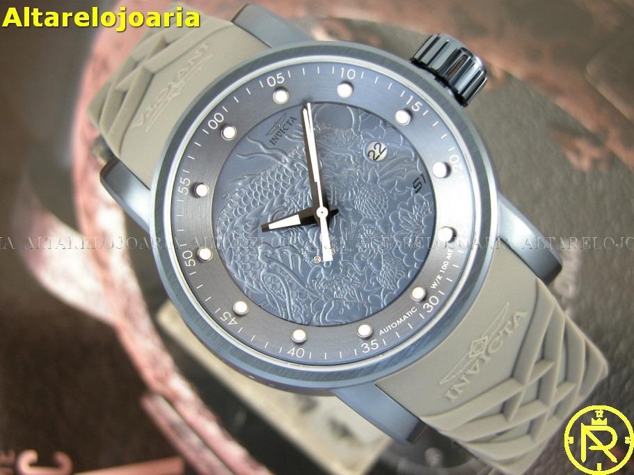 3ba7236ed31 Relógio Invicta Yakuza 18214 Automático O R I G I N A L - R  899
