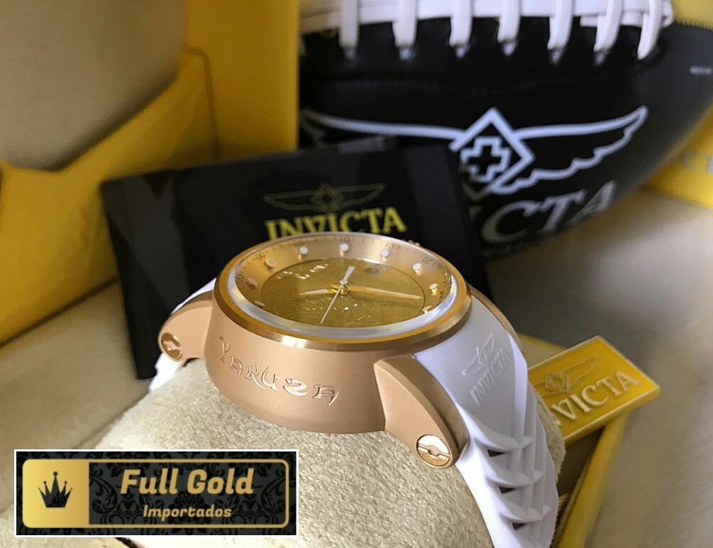 a270664e4a7 Relógio Invicta Yakuza 19546 - Aqui É Original De Verdade - - R  999 ...