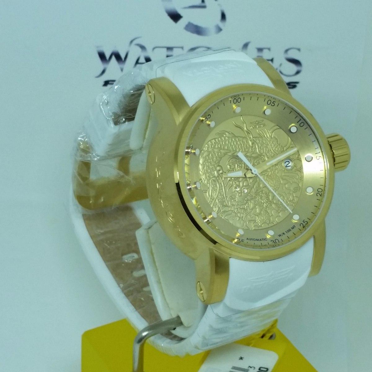 64dfcff2e9e relógio invicta yakuza 19546 dragao branco automático. Carregando zoom.