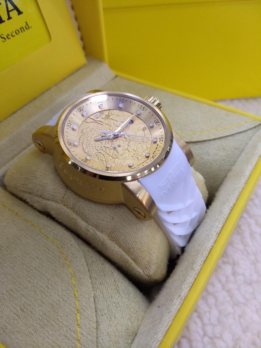 80b5ea30312 relógio invicta yakuza automatico original puls branca 19546. Carregando  zoom.