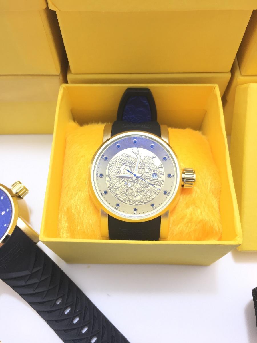0a694718bea relógio invicta yakuza s1 15863 preto na caixa. Carregando zoom.