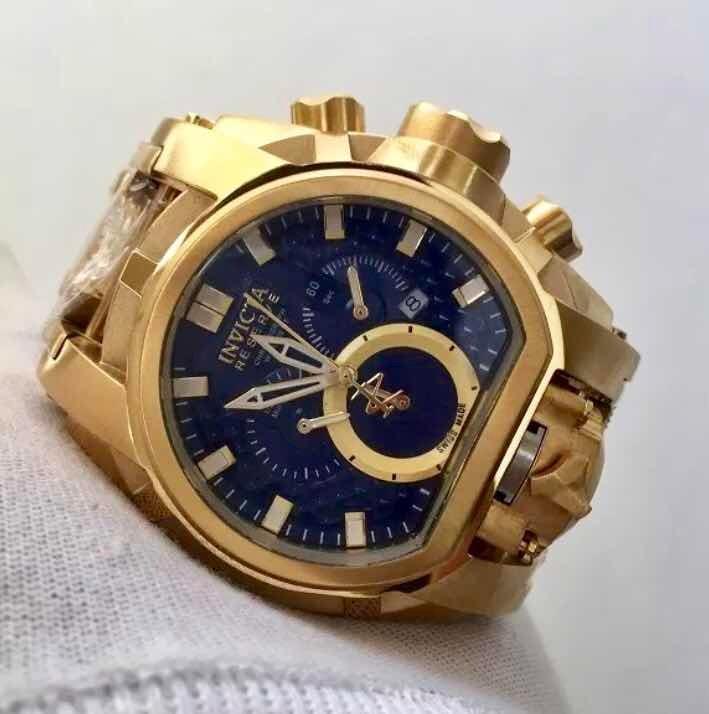 7a9647985fa Relógio Invicta Zeus Magnum 25607 Gold