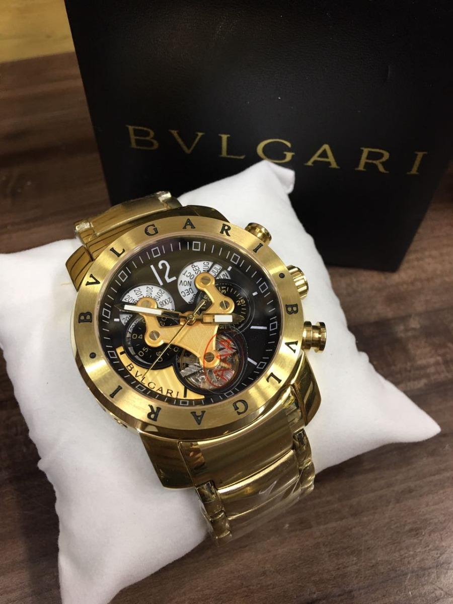96733b5bd09 relógio iron man 3d dourado automático detalhes preto aço. Carregando zoom.