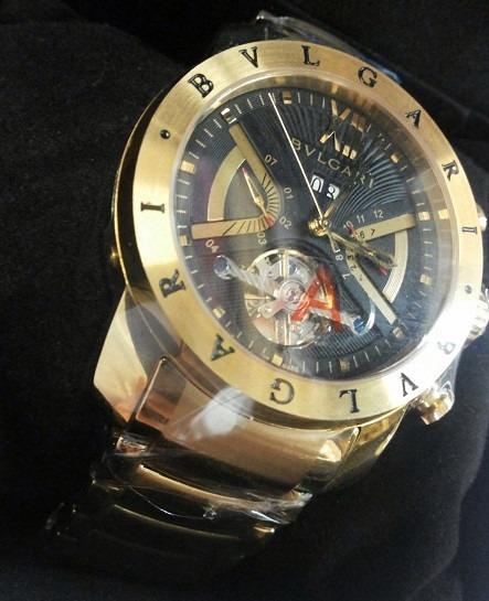 0cdcd77bbb8 Relógio Iron Man Automático (dourado Fundo Preto) Frete Free - R ...