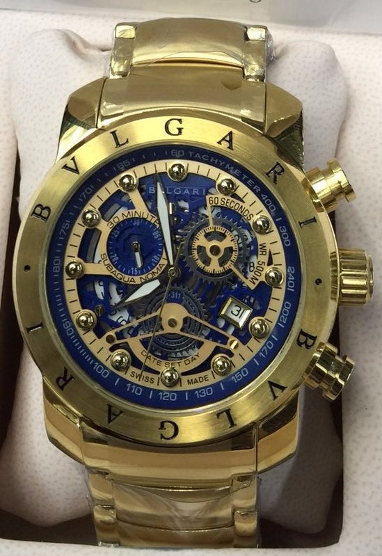 027db3db04d Relógio Iron Man Esqueleto Azul Bateria Sedex Gratis 12x - R  395 ...