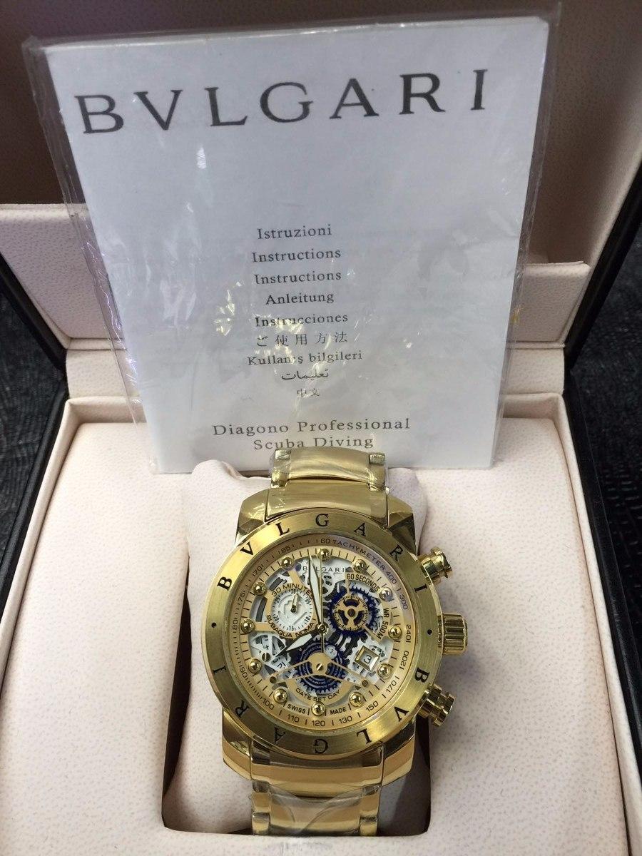 68a70596c83 Relógio Iron Man Subaqua Masculino Dourado Top 12x Skeleton - R  399 ...