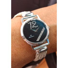 Relógio Italiano Em Prata 925 Anos 70. Reliquia!!!