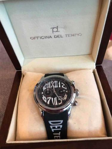 relogio italiano officina del tempo made in italy tsafi revolution gel, original, na caixa, novo