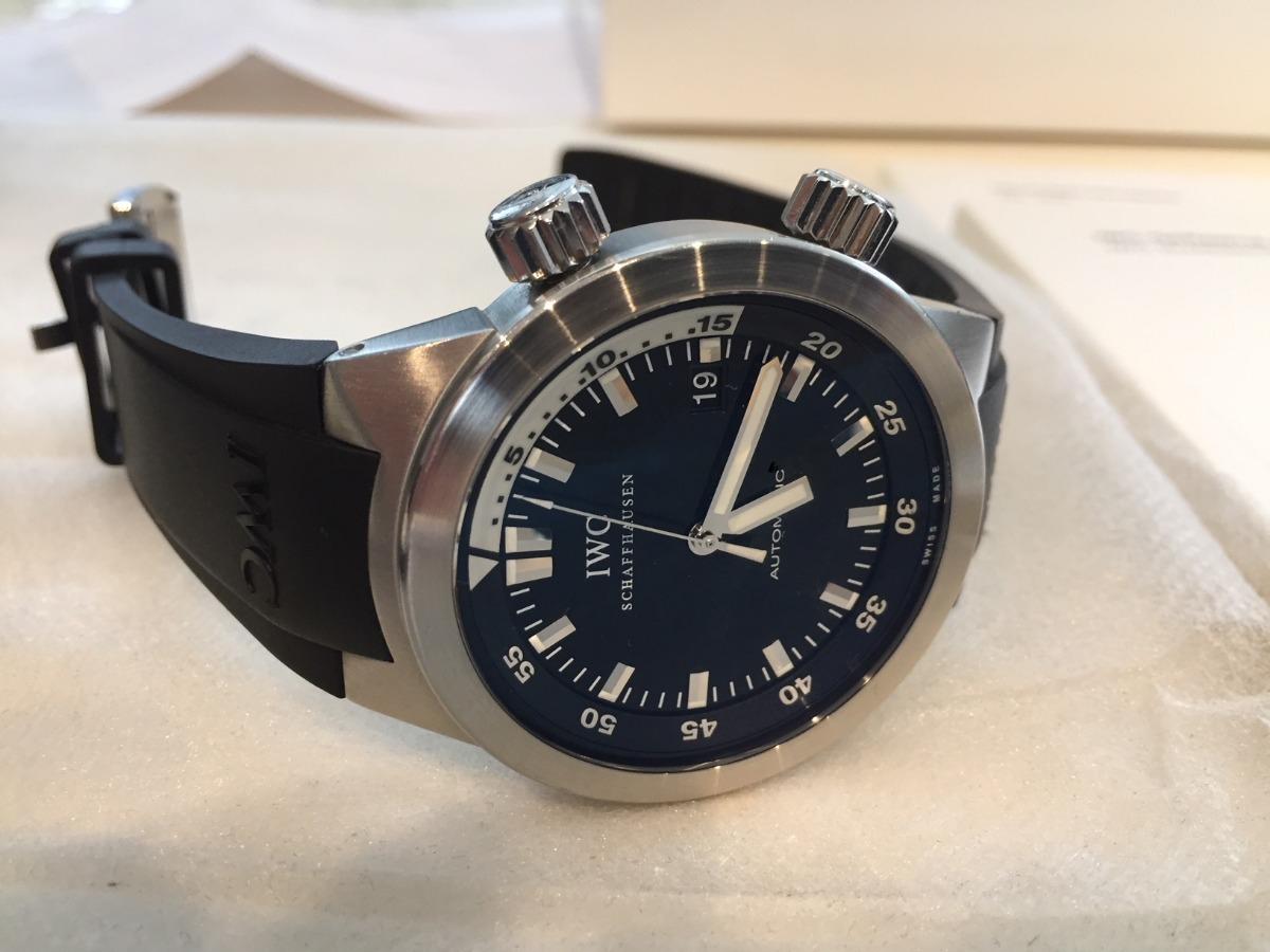 e51fba1f53f relógio iwc aquatimer. Carregando zoom.