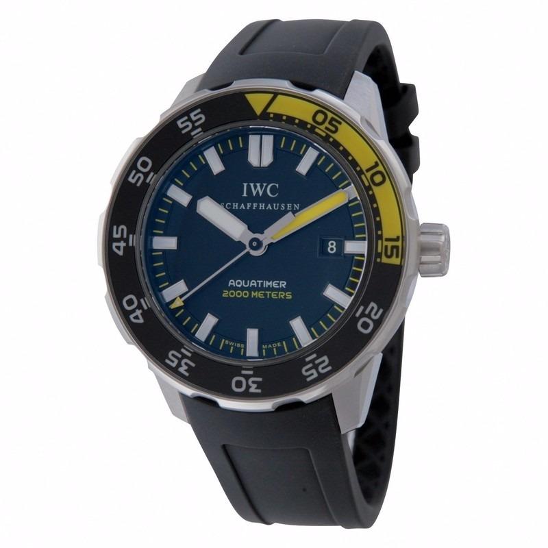 73efd92c8fa relógio iwc aquatimer automático - swiss made - iwc 3568-01. Carregando  zoom.