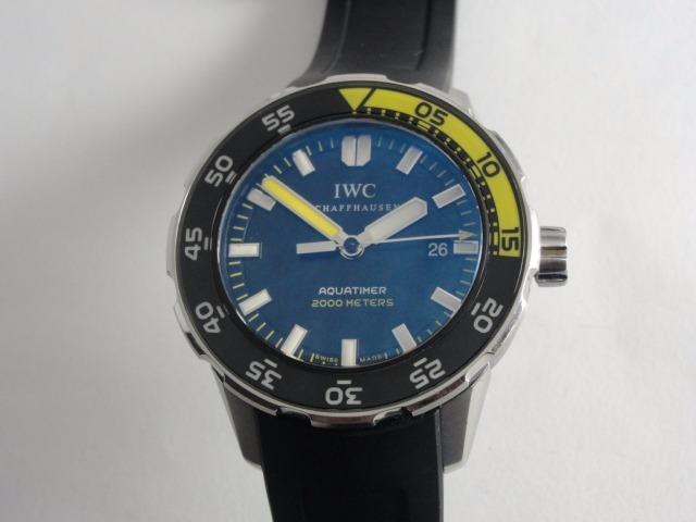 6a66de4dddb Relógio Iwc Aquatimer Automático - Swiss Made - Iwc 3568-01 - R ...