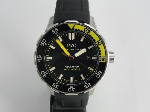 1809931c92f Relógio Iwc Aquatimer Automático - Swiss Made - Iwc 3568-01 - R ...