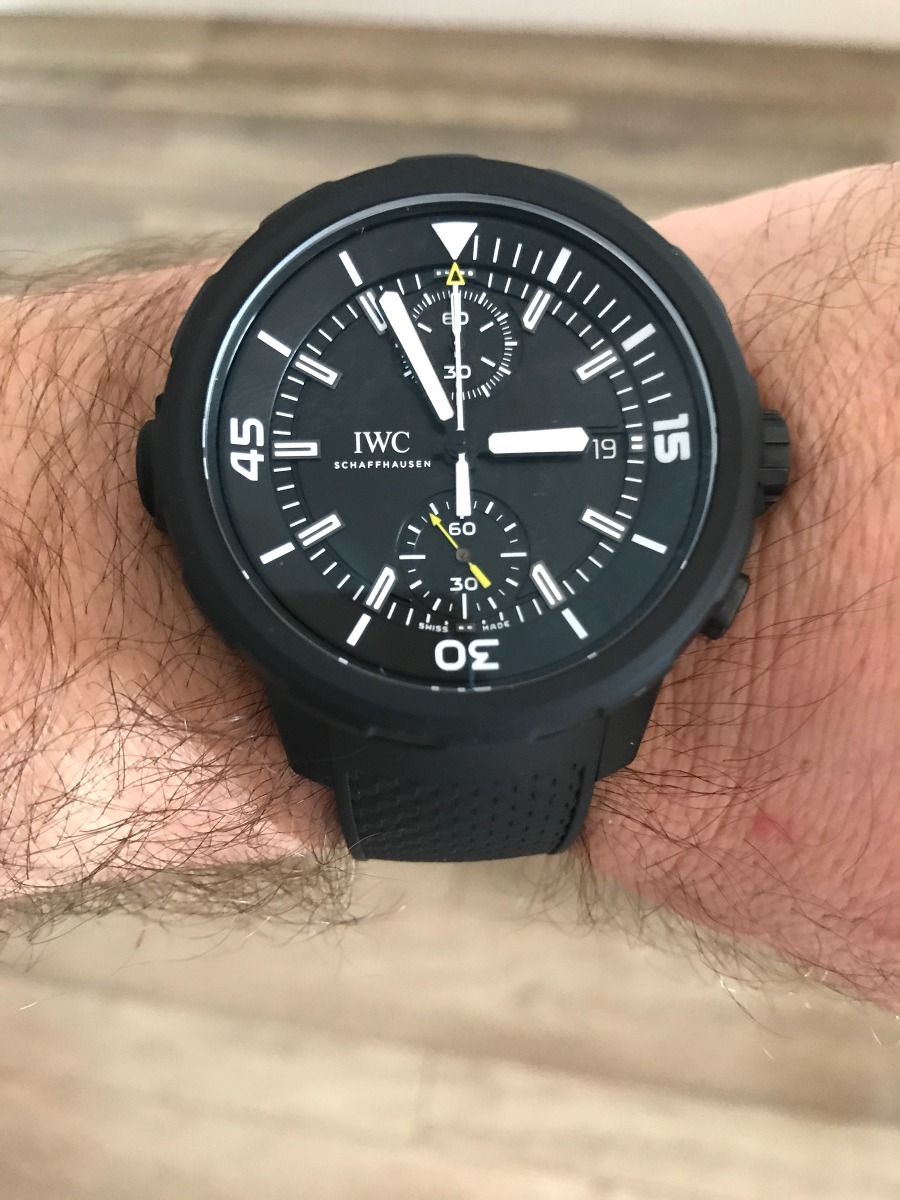 5a490aaf63c relógio iwc aquatimer chronograph special edition iw3795-02. Carregando  zoom.
