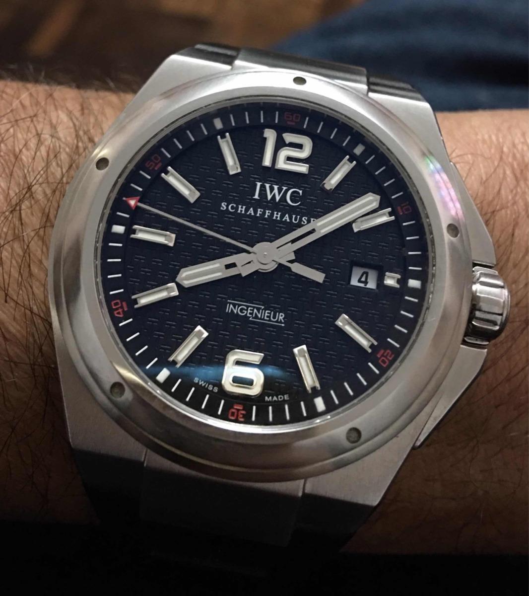 12b7089e670 relógio iwc ingenieur 2016 completo troco jaeger lecoultre. Carregando zoom.