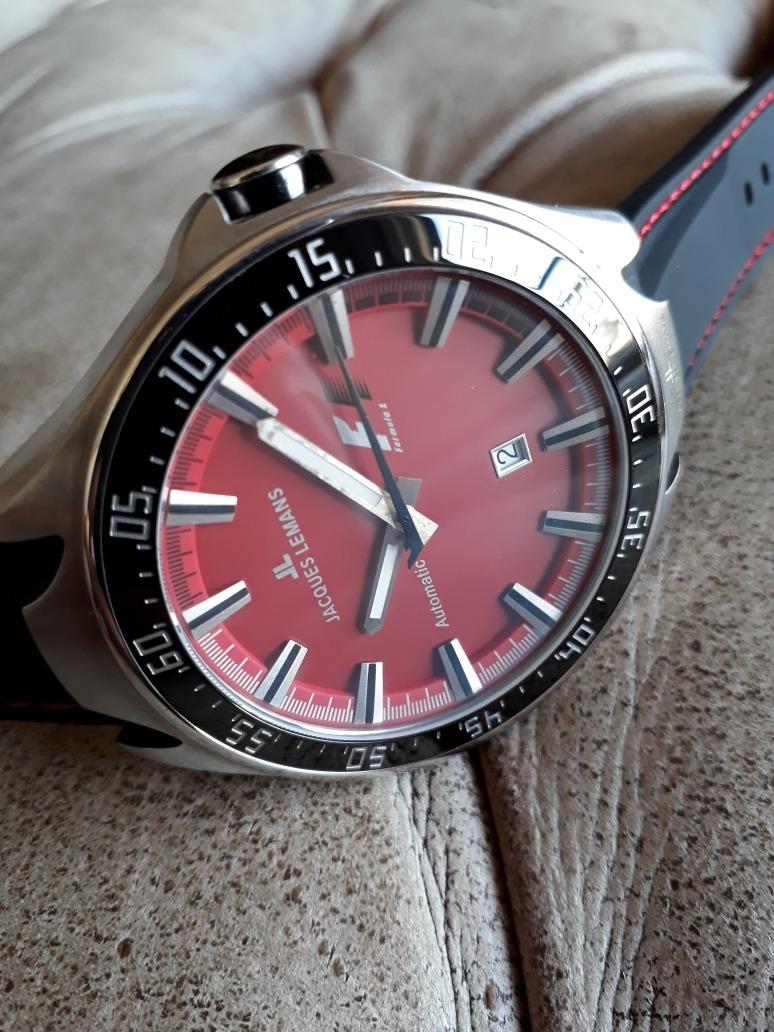 b8033d50159 relógio jacques lemans f1 - automático - 46mm - ref. f5039. Carregando zoom.