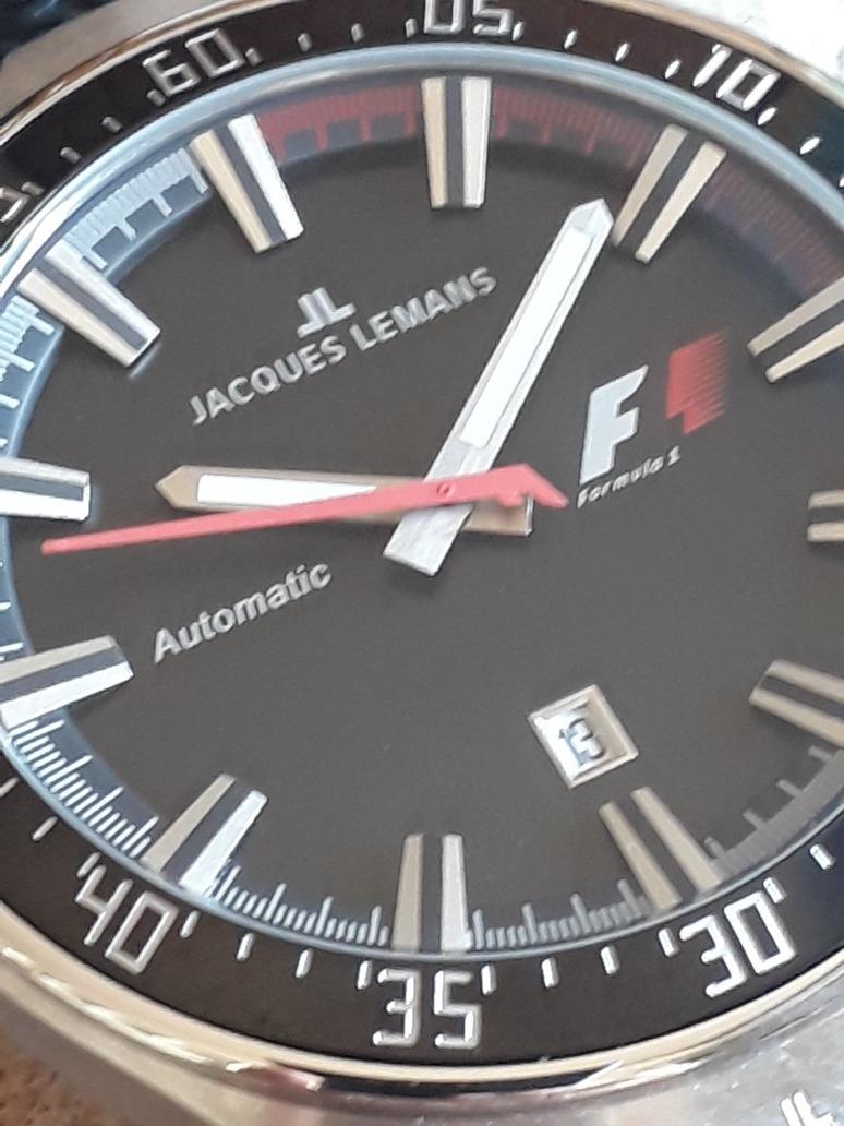 2e89b755b7a relógio jacques lemans - f1 - f5039 - 46mm - automático - f1. Carregando  zoom.