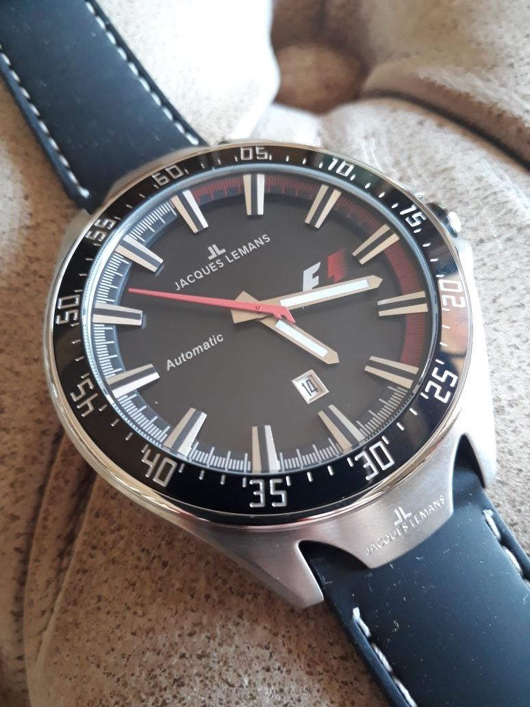 7b54aa605aa relógio jacques lemans f1 - f5039 - automático - 46mm. Carregando zoom.