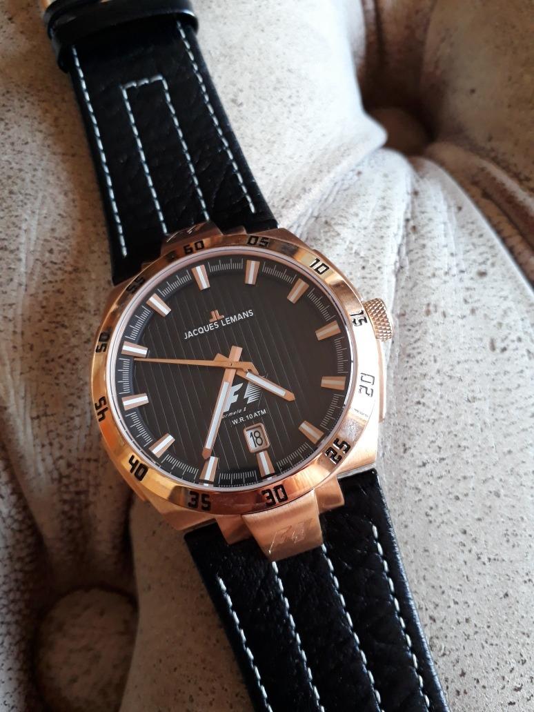 ef4fa828012 relógio jacques lemans f1 - f5042 - quartz 44mm - impecável. Carregando  zoom.