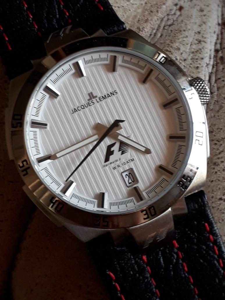 442e71b9c06 relógio jacques lemans f1 - f5042 - quartz - impecável !!! Carregando zoom.