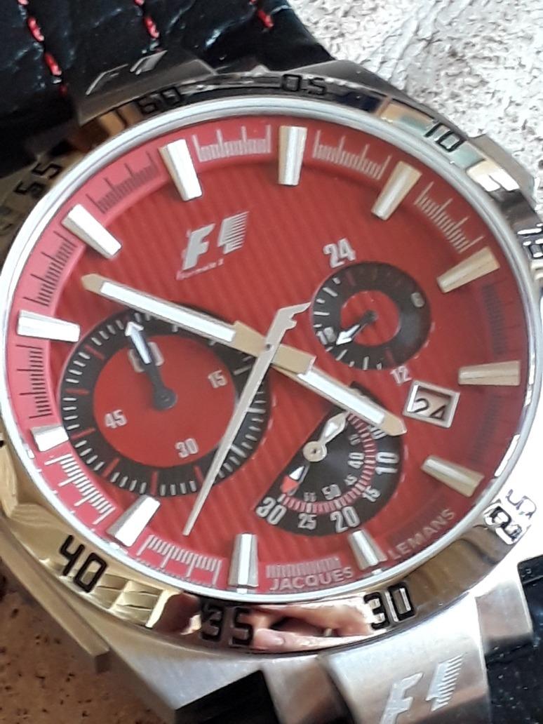 953a1a09d9f relógio jacques lemans f1 - f5044 - quartz - 44mm - lindo!!! Carregando  zoom.