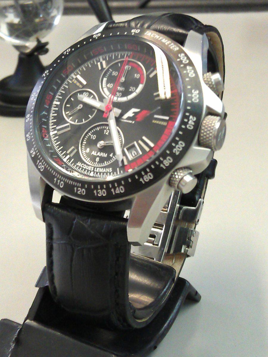 b9ef506e35f relógio jacques lemans f5007 fórmula 1 cronografo. Carregando zoom.