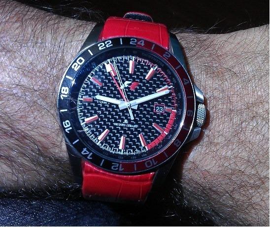 0ac3e9261e9 Relógio Jacques Lemans F5012 F1 - R  650