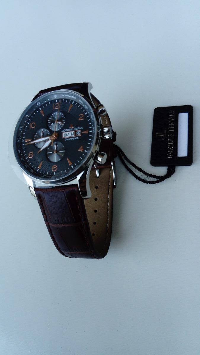 28677a16cf9 relógio jacques lemans lodon. Carregando zoom.