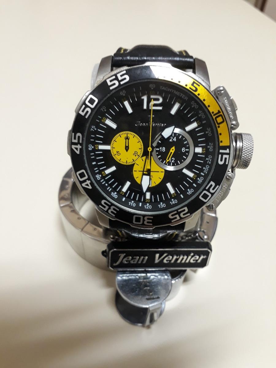 c636a6762f8 relógio jean vernier. Carregando zoom.