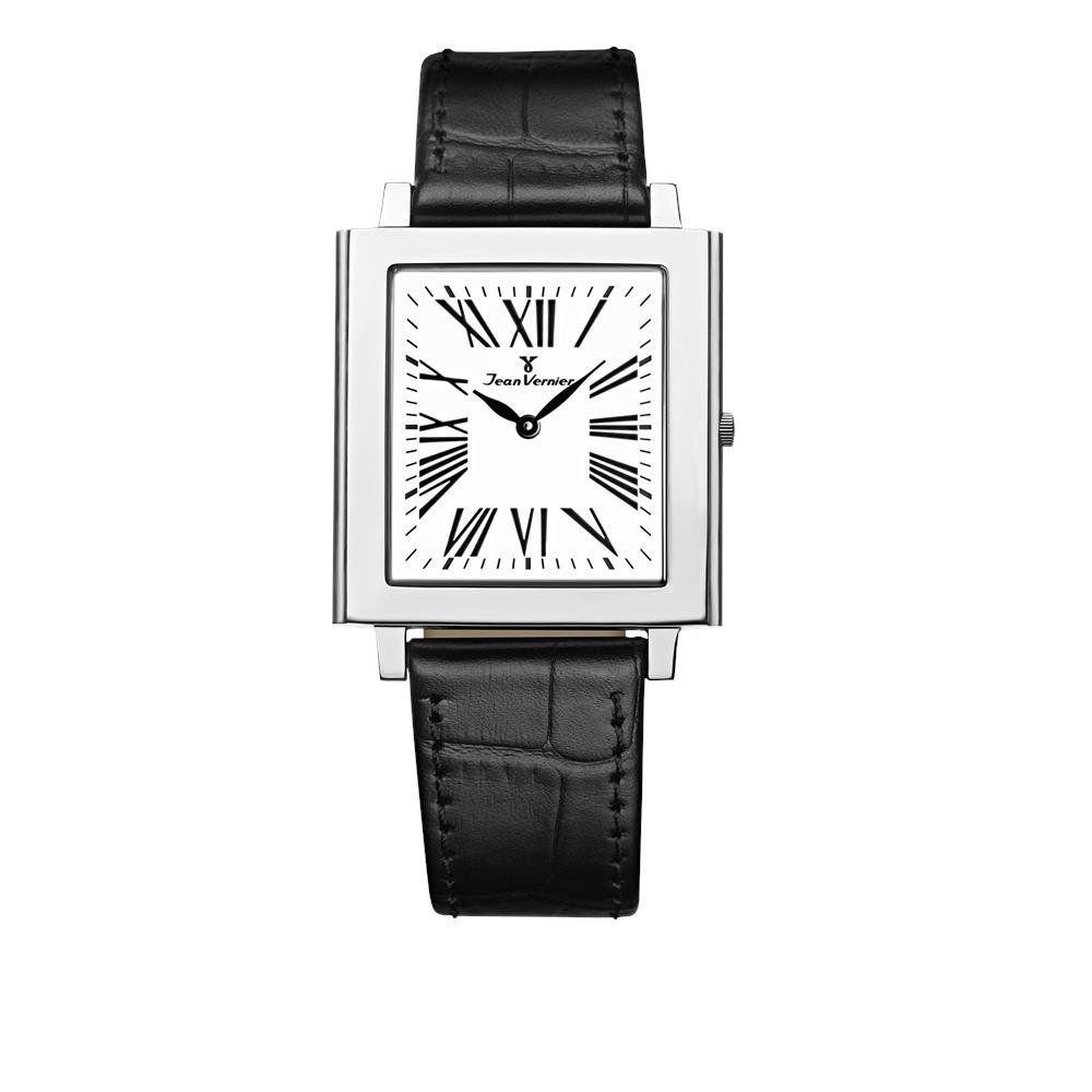 dcfadec6783 Relógio Jean Vernier Feminino Jv832 Social Retangular - R  999