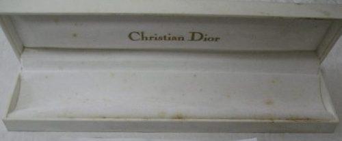 51189479e57 christian dior relógio e jóias estojo original · relógio jóias estojo