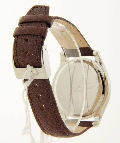 relógio kenneth cole new york kc1810 pulseira de couro lindo