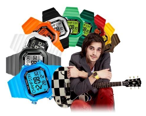 ff8f571b720 Relógio Kit Champion Yot Cp40180x Lançamento Frete Grátis - R  159 ...