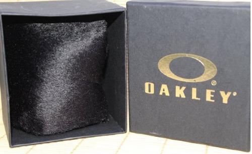relogio kit oakley (pulseira + relógio + caixinha)