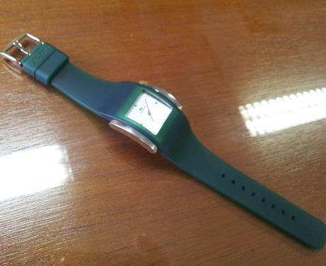 relógio lacoste 6350l 5 pulseiras silicone originais