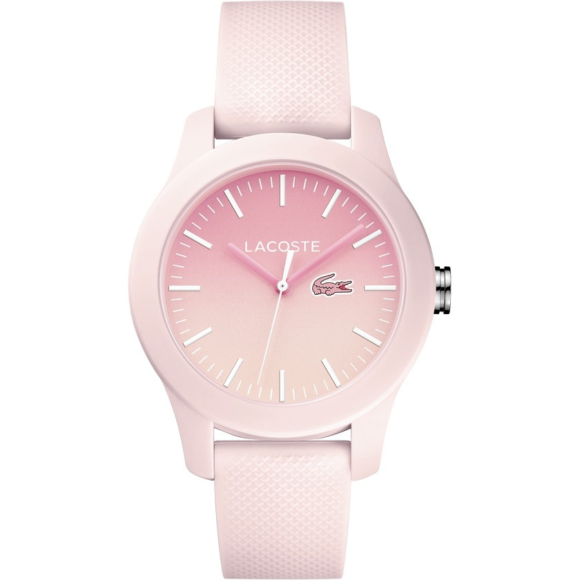9f2dc05ad8d Relógio Lacoste Feminino Pulseira De Silicone Rosa - 2000988 - R  449