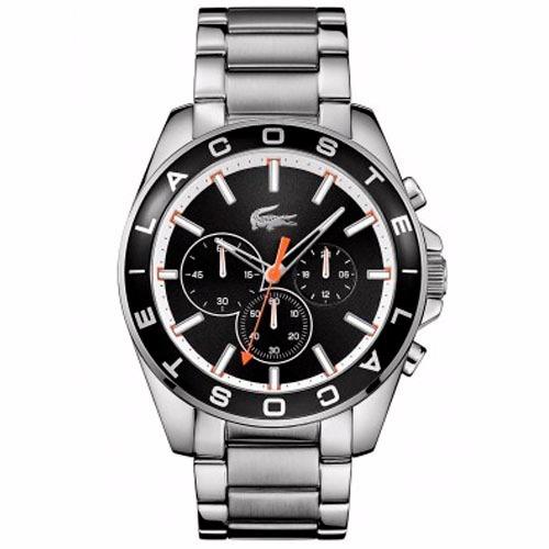 relógio lacoste masculino aço