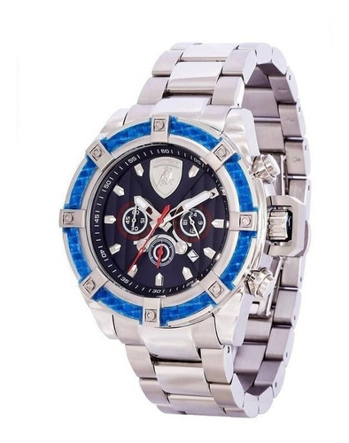 relógio lamborghini aventador - lb90022663m