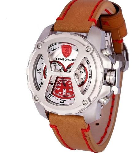 relógio lamborghini diablo - lb90057652m
