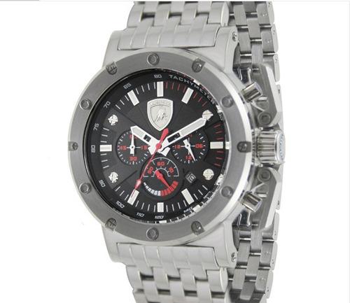 relógio lamborghini ferruccio - lb90028653m
