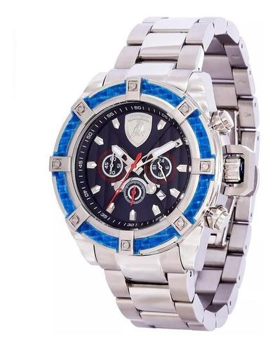 relógio lamborghini masculino countach lb90022663m original