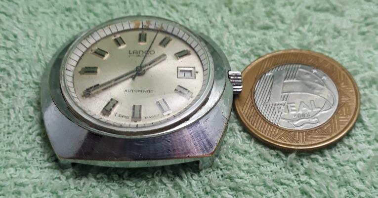 5e23d9eb8ea Relógio Lanco Automático - R  149