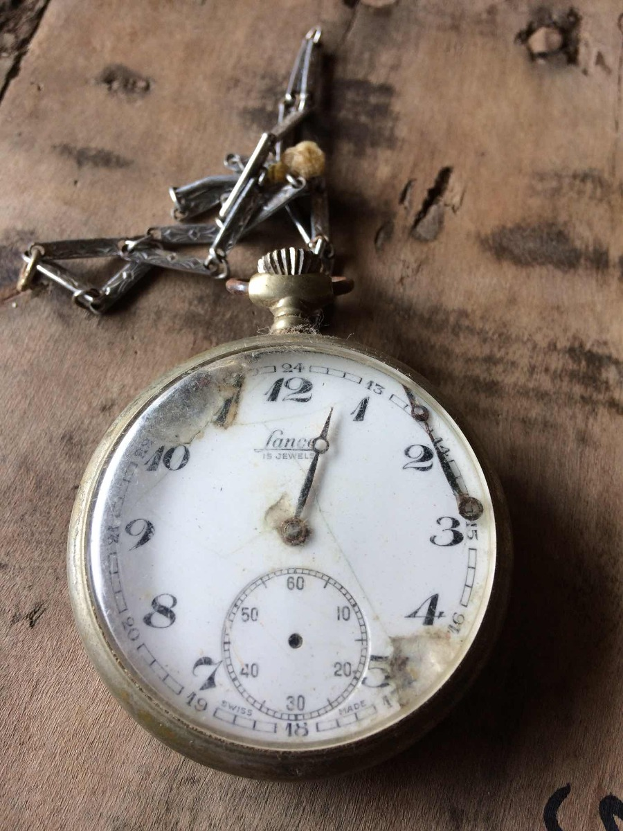 9d73d94a13a Relógio Lanco Bolso ( Restauro Ou Aproveitamento) 220 - R  189