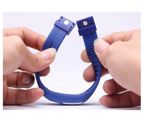 relógio led digital sport bracelete pulseira silicone oferta
