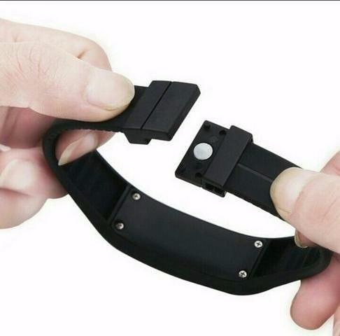 relógio led digital sport nike pulseira silicone/ 2 baterias