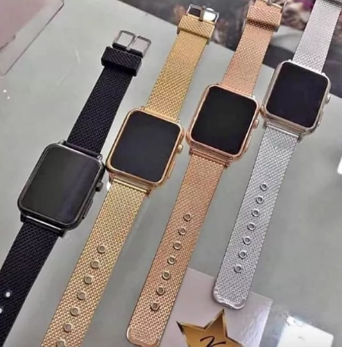 relógio led watch unissex feminino  +brinde