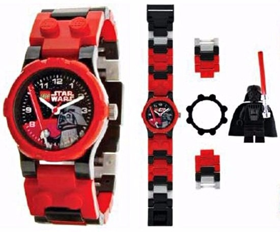 9df34c0701e Relógio Lego Star Wars Darth Vader Original - R  169