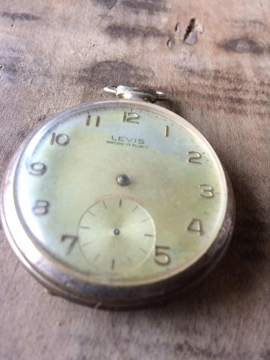ff99ca8724c Relógio Levis Antigo De Bolso Swiss ( Restauro) Coleção 240 - R  188 ...