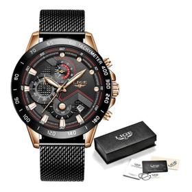 Relógio Lige 2020 Analógico Digital Luxo Estilo 2021