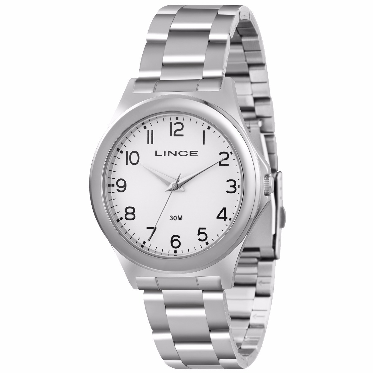a86adc4cbeb relógio lince analógico feminino prata lrm4287l + frete grát. Carregando  zoom.