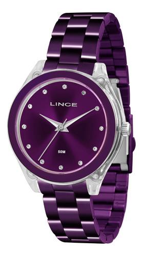 relógio lince analógico - lrv4431p l1lx c/ nf e garantia u